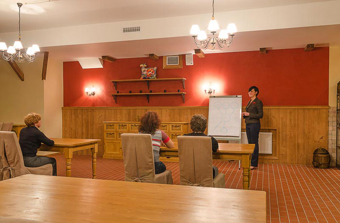 Business meetings, seminars and conferences